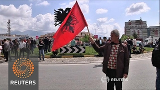 Download Albania's opposition party block main roads in protest for fair elections Video