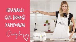 Download Çağla | Ispanaklı Gül Böreği Yapıyorum | Anne-Çocuk Video
