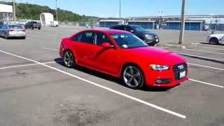 Download 360* view of my Audi A4 (Red with black optics and sports package) Video