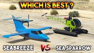 Download GTA 5 ONLINE : SEA SPARROW VS SEABREEZE (WHICH IS BEST ON WATER?) Video
