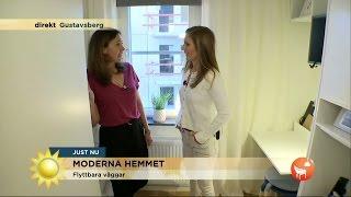 Download Trångbodd? Kolla in det nya flexibla hemmet! - Nyhetsmorgon (TV4) Video