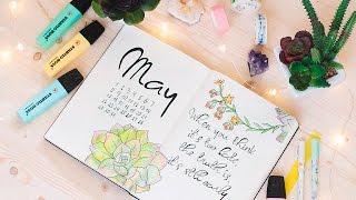 Download BULLET JOURNAL MAY|Plan with me|Оформление ЛД | Мой Ежедневник Video