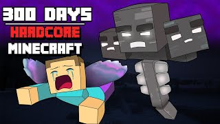 Download I Survived Hardcore Minecraft For 300 Days And This Is What Happened Video