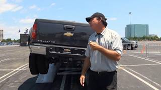 Download Ford F350 vs. Dodge Ram vs. Chevy GMC Sierra Truck Challenge MEGA TEST Video