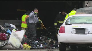 Download Coroner: Man pulled from burning Hubbard garage dies Video