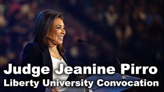 Download Judge Jeanine Pirro - Liberty University Convocation Video