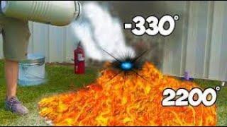 Download World's Hottest Substance Vs Coldest Substance Video