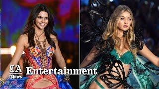 Download Kendall Jenner, Gigi Hadid nail their Victoria's Secret Fashion Show debut Video