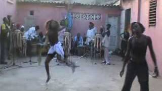 Download CULTURE 4: SENEGAL: sabar drum and dance rehearsal of M`Baye M`Boup`s group in Dakar. Video
