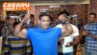 Download MUSCLE TOWN UNISEX FITNESS STUDIO INAUGURATION IN ROYAPETTAH Video