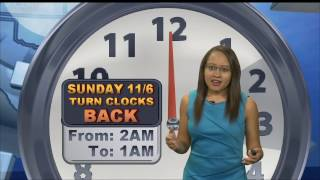 Download Kristy Steward's Thursday Midday Forecast 11/3/16 Video