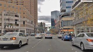 Download Driving Downtown - Bellevue 4K - Seattle USA Video