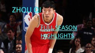 Download Zhou Qi Full 2017-18 Regular Season Highlights   Rookie Year Video
