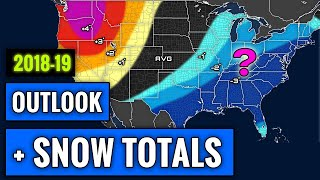 Download SIMPLIFIED 2018-2019 Winter Forecast [+Snowfall Amounts] Video