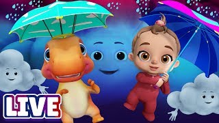 Download Rain Rain Go Away & Many More Baby Songs & 3D Nursery Rhymes by ChuChu TV – LIVE Stream Video