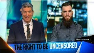 Download Aussie Comedian Vs New Zealand (TV Interview) Video
