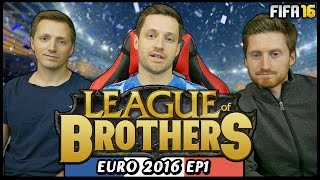 Download LEAGUE OF BROTHERS! - EURO 2016 #1 (Fifa 16 Ultimate Team) Video
