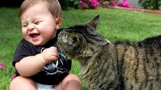 Download Best BABIES LAUGHING at ANIMALS! - CAUTION; Extremely funny compilation! Video