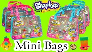 Download 6 Shopkins Season 4 Shopkins Mini Bag with 2 Exclusive All Six Sets - Cookieswirlc Video Video