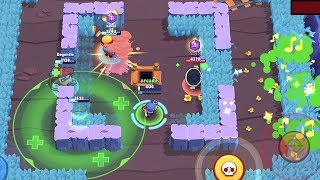 Download Penny vs Healer Pam vs Heavy Weight Darryl   Funny Moments & Glitches & Fails   Brawl Stars Montage Video