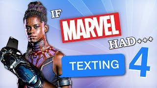 Download If Marvel Had Texting 4 Video