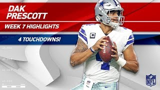 Download Dak Prescott Dominates San Francisco w/ 4 TDs! | Cowboys vs. 49ers | Wk 7 Player Highlights Video