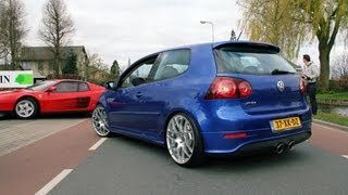 Download Golf V R32 w/ Milltek Exhaust System - Fast drive by!! Video