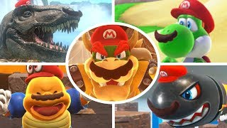 Download Super Mario Odyssey - All Capture Transformations Video