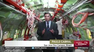 Download Brazil's Embraer set to air newest commercial aircraft Video