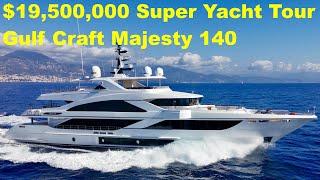 Download $19,500,000 Super Yacht Tour : Gulf Craft Majesty 140 Video