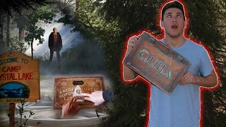 Download OUIJA BOARD AT HAUNTED CAMP GROUND / CRYSTAL LAKE GONE WRONG! ( FRIDAY THE 13TH ) Video