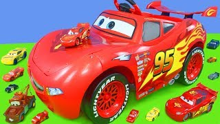 Download Disney Cars Unboxing: Lightning McQueen Battery Powered Ride on Toy Vehicles for Kids Video