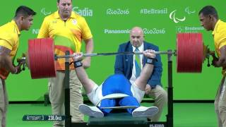 Download #ThrowbackThursday: Pavlos Mamalos | Powerlifting | Gold at Rio 2016 Paralympics Video