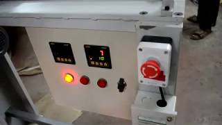 Download Rolling Shutter / Torsion Spring Making Machine Video