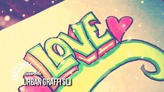 Download como dibujar un graffiti de amor | como hacer un graffiti Dibujos de Amor Video
