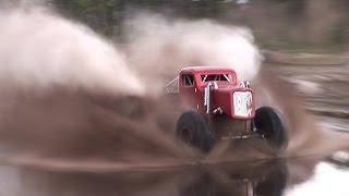 Download Mega Trucks Walk On Water - Huge Air At Triple Canopy Ranch! Video