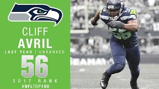 Download #56: Cliff Avril (DE, Seahawks) | Top 100 Players of 2017 | NFL Video