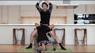 Download COUPLES YOGA CHALLENGE!! Video