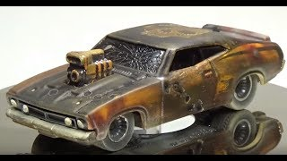 Download Mad Max / Gas Lands Custom Hot Wheels 73 Ford Falcon XB Video