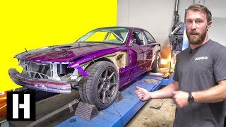 Download Scrapyard M3 LIVES! How Much Power Does the V8 Make?? Video