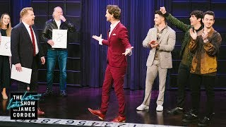 Download Mentalist Lior Suchard's Freaks Out The Jonas Brothers Video