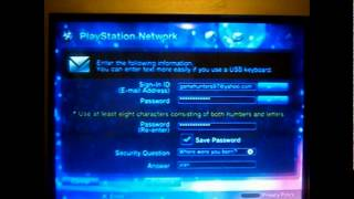 Download How to sign up for Playstation Network (Will Work) Video