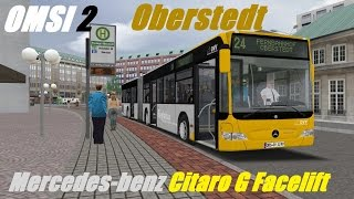 Download OMSI 2. Oberstedt 2016, Line 24, Mercedes-Benz Citaro G Facelift. Part 1 Video