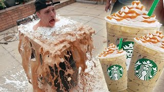 Download Diving Into A SUPER GIANT ICED COFFEE! Video