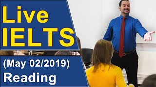 Download IELTS Live - Reading - Band 9 Practice Video