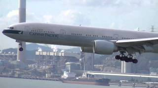 Download Hong Kong Airport Epic Spotting: A380s, 747s, A340s, 777s, A330s, 767, DC-10! Video