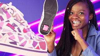 Download Adults Wear Heelys For A Day Video