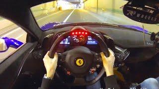 Download Insane POV: Ferrari 458 Speciale w/ Straight Pipes and R3 Wheels! Video