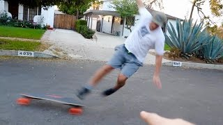 Download FLYING OFF A $1600 SKATEBOARD FAIL!! Video
