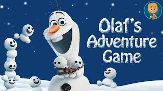 Download Disney Frozen Olaf the snowman adventures - Olaf's summer song Disney Games Video